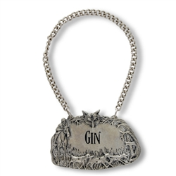 Morning Hunt Gin Decanter Tag by Vagabond House