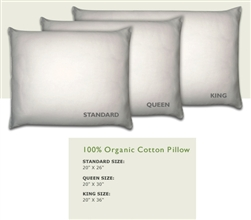 Natural Cotton Pillows by Royal-Pedic