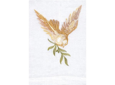 Anali - Dove White Guest Towel