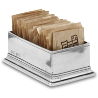 Sugar Packet Holder by Match Pewter