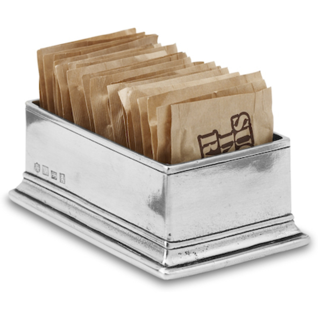 Match Pewter Sugar Packet Holder