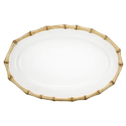 Bamboo Medium Platter by Juliska