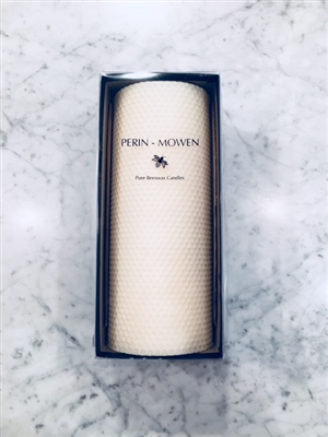 "9"" Connoisseur Pillar Candle by Perin-Mowen"