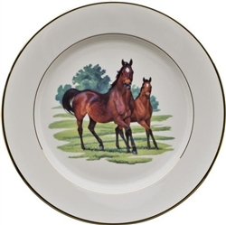 Bluegrass Buffet Plate by Julie Wear