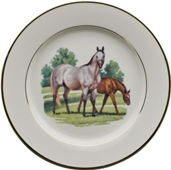 Bluegrass Dessert Plate by Julie Wear