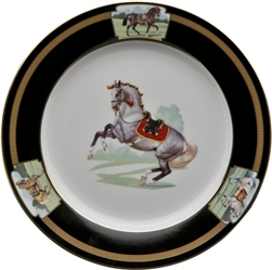 ... Imperial Horse Dessert Plate by Julie Wear  sc 1 st  Sallie Home & Julie Wear Designs - Imperial Horse Dinnerware