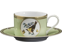 Windsor Bird Cup and Saucer by Julie Wear