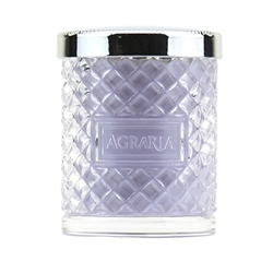 Lavender & Rosemary Crystal Cane Candle by Agraria