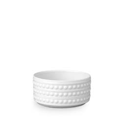 Perlee White Deep Bowl (Small) by L'Objet