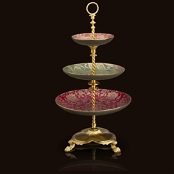 Fortuny 3-Tier Server by L'Objet