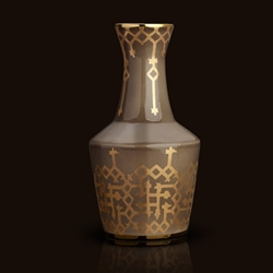 Fortuny Carafe in Rabat Grey by L'Objet
