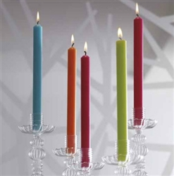 "11"" Christmas Green Dinner Candle - Point a La Ligne"