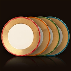 Fortuny Dinner Plates - Assortment (Set of 4) by L'Objet