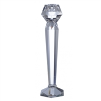 Facets Medium Candle Holder by Point a La Ligne