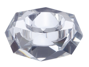 Facets Tealight Holder by Point a La Ligne