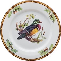 Wood Duck Salad Plate by Julie Wear