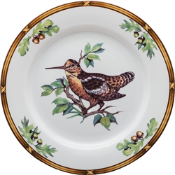 Woodcock Salad Plate by Julie Wear
