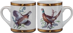 Pheasant/Quail Mug by Julie Wear