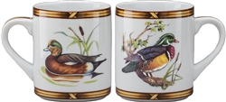 Wood Duck/ American Widgeon Mug by Julie Wear