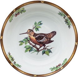 Woodcock Serving Bowl by Julie Wear