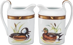 American Widgeon/Merganser Creamer by Julie Wear
