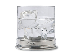 Crystal Double Old Fashioned Glass by Match Pewter