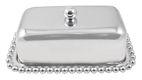 Pearled Covered Butter Dish by Mariposa