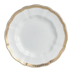 Carlton Gold Salad/Dessert Plate by Royal Crown Derby