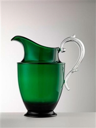 Federica  Green Pitcher by Mario Luca Giusti