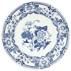 Blue and White Plate Placemat - Caspari