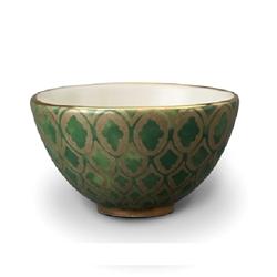 Fortuny Cereal Bowls - Green by L'Objet