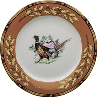 "American Wildlife Pheasant Buffet Plate (12"") by Julie Wear"