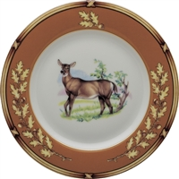 "American Wildlife Doe Salad Plate (8"") by Julie Wear"
