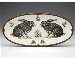 Fish Platter with Hare by Laura Zindel Design