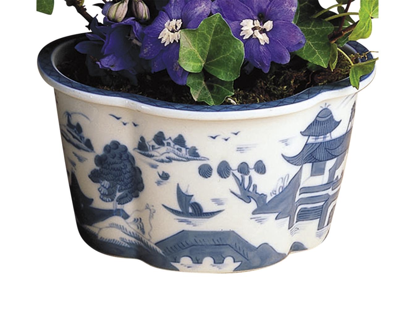 Mottahedeh - Blue Canton Cache Pot