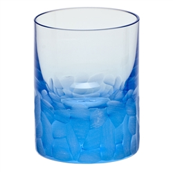 Pebbles Aquamarine Shot Glass by Moser