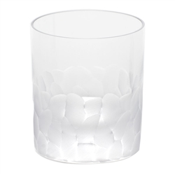 Pebbles Clear Double Old Fashioned Glass by Moser