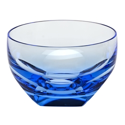 Aquamarine Bar Bowl by Moser