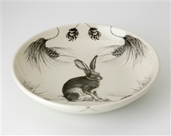 Hare Shallow Bowl by Laura Zindel Design