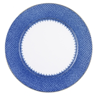 Blue Lace Service Plate by Mottahedeh