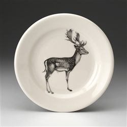 Fallow Buck Deer Bread Plate by Laura Zindel Design