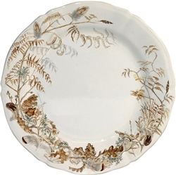 Sologne Dinner Plate by Gien France