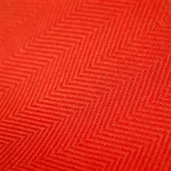 Emilia Fire Red Napkin by Linen Me