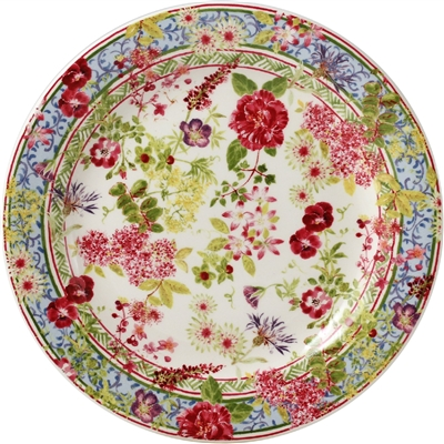 Gien france millefleurs canape plate for What is a canape plate used for