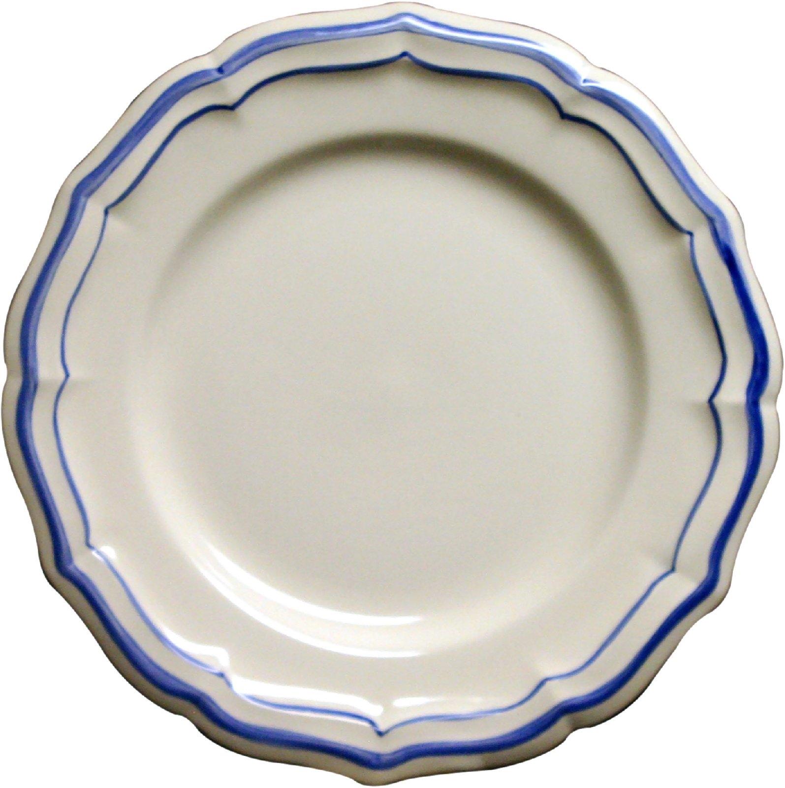 gien france filet bleu dinner plate
