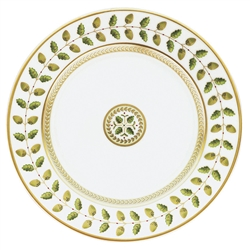 Constance Green Bread and Butter Plate by Bernardaud
