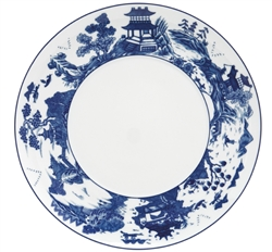 Blue Canton Service Plate by Mottahedeh