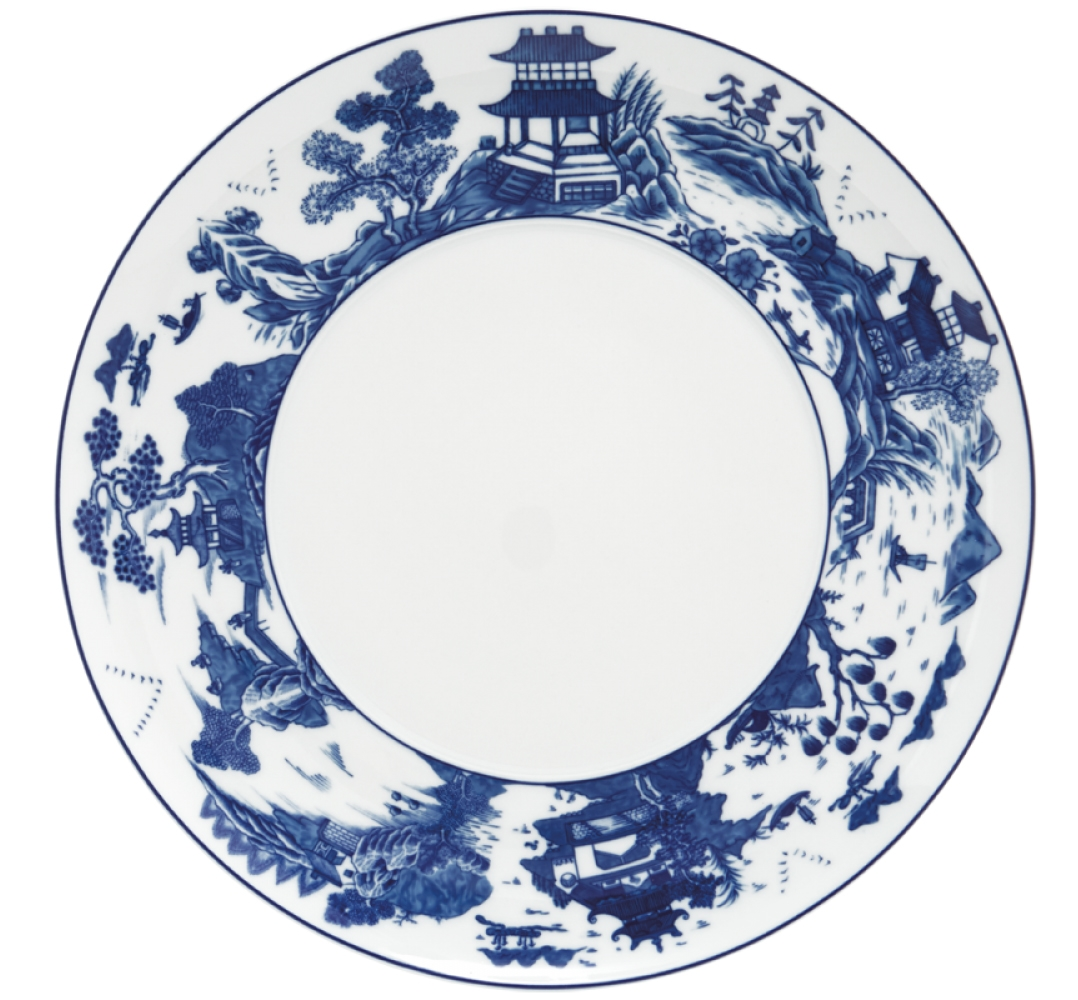 Blue Canton Service Plate by Mottahedeh  sc 1 st  Sallie Home & Mottahedeh - Blue Canton Service Plate