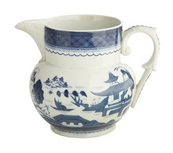 Blue Canton Pitcher (Large) by Mottahedeh