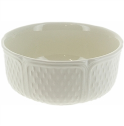 Pont Aux Choux White Cereal Bowl by Gien France